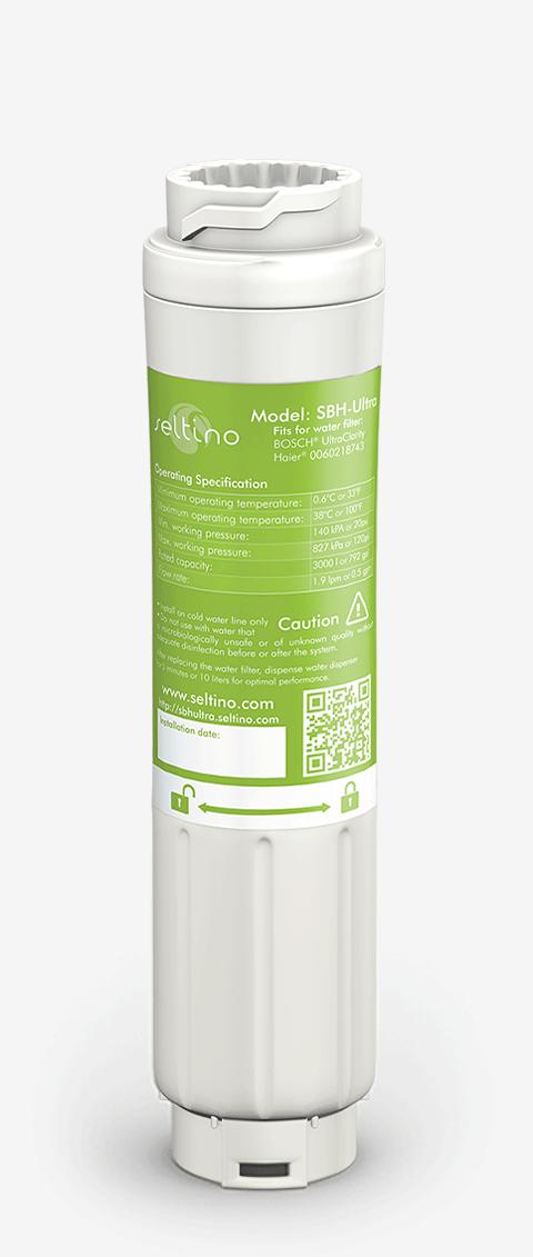 2x Seltino SBH-Ultra Water Filter Comp Ultra Clarity 644845,643046,740572,643019